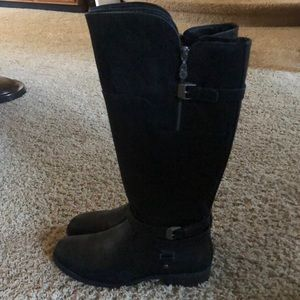 Guess Black Riding Boots